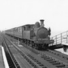 She only had weeks to live! W32 Bonchurch arrives at Ryde Esplanade with the 15 10 Ryde Pier Head to Shanklin service on 15/08/64.