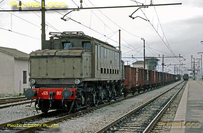 FS E626.067, Terontola, 28th Auguat 1987