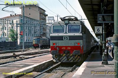FS E632.059, Arezzo, 17th August 1987