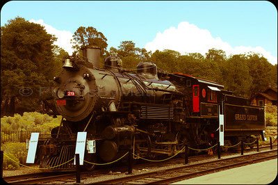 1906 ALCO Steam Locomotive at the Grand Canyon.