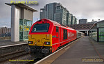 "67018 ""Keith Heller"", Birmingham Snow Hill, 1G25, 22nd January 2014"