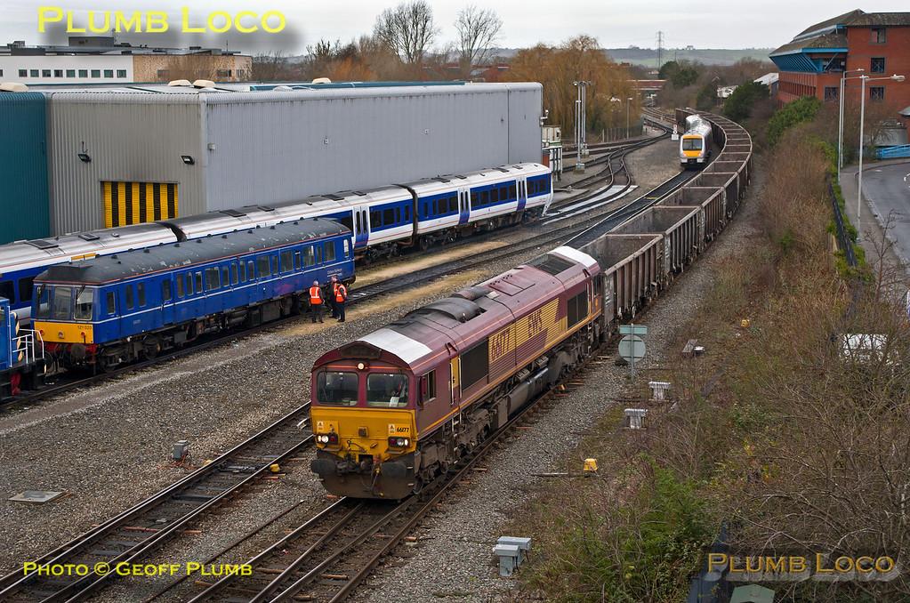 66177, Aylesbury, 6Z67, 28th January 2014