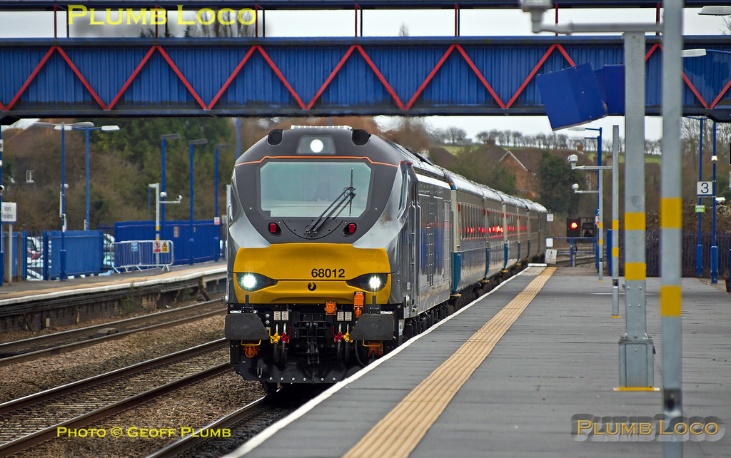 68012, Princes Risborough, 5U69, 9th January 2015