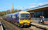 FGW 166218 seen here at Wokingham, heading for Gatwick airport 27/02/2015.