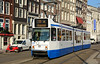 BN tram 818 on service 16 is seen in Spui Amsterdam 13/03/2015.