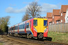 SWT 458028 departs Wokingham heading for London Waterloo 27/02/2015.<br /> I did not think I would still be photographing Junipers in their original as built condition in 2015, however with the rebuild programme running approx 2 years late I still have a little time.