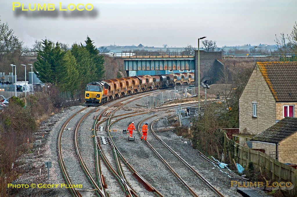 70804 Bicester, Gavray Junction, 6C32, 20th January 2015