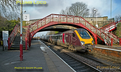 220 015, Garforth, 1S35, 31st January 2018
