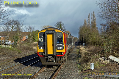 EMT 158 866, Lowdham, 2L64, 31st January 2018