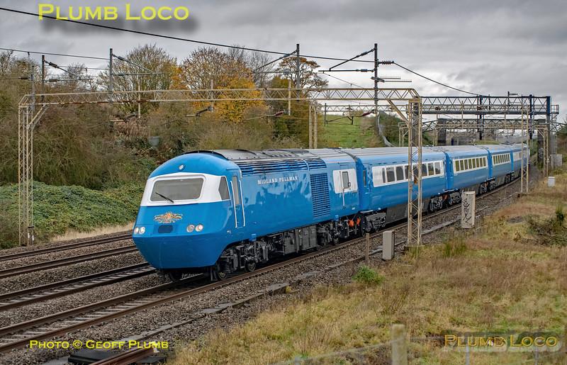 43046, Blue Pullman, Old Linslade, 5Z36, 11th November 2020