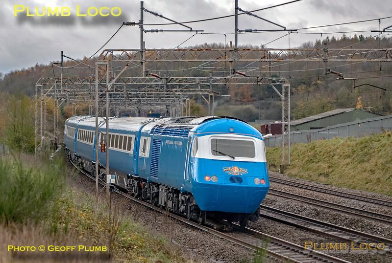 43055, Blue Pullman, Old Linslade, 5Z36, 11th November 2020