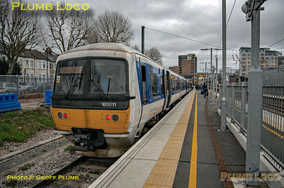 165 011, West Ealing, 1Y06, 11th January 2020