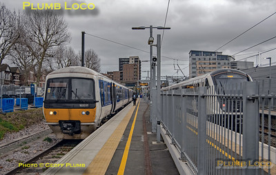 165 011 & 345 059, West Ealing, 11th January 2020