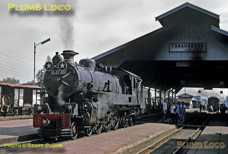 C27 35, Tanahabang Station, 18th July 1973