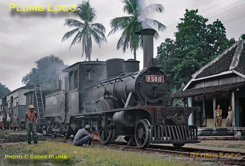 PNKA No. B50 11, Madiun - Slahung Line, 24th July 1973