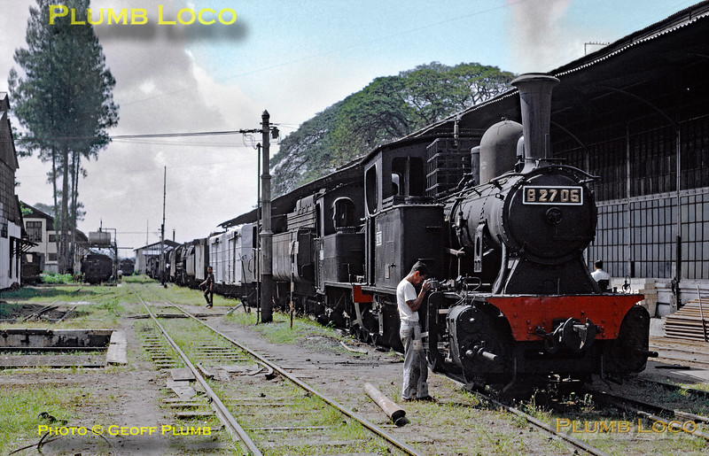 PNKA No. B27 05, Madiun Works, 25th July 1973
