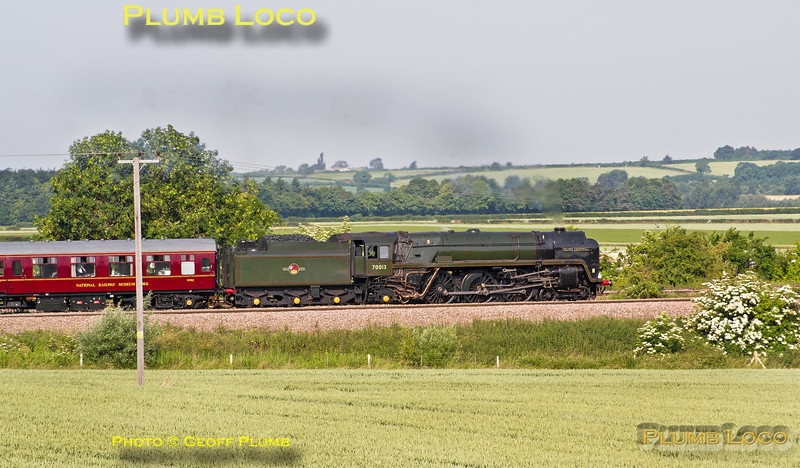 "70013 ""Oliver Cromwell"", Oakley, 1Z82, 6th July 2013"