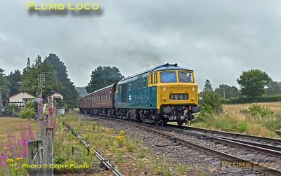 D7076, Gotherington, 2C55, 24th July 2015