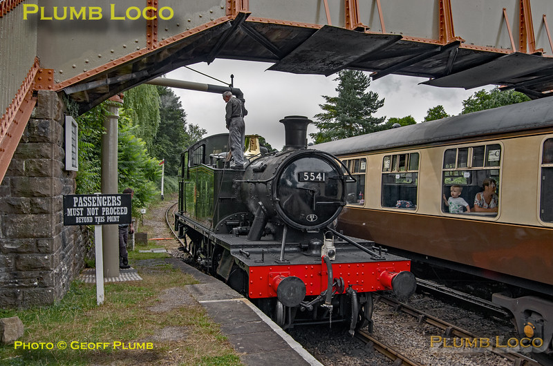 5541, Parkend Water Column, 17th July 2019