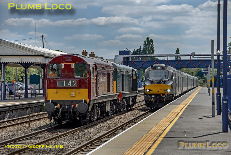 20142, 20007 & 68010, Princes Risborough, 3rd July 2019