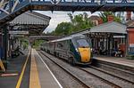 GWR No. 800 005, Evesham Station, 1W31, 17th July 2019