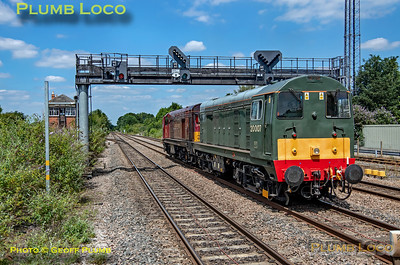 20142 & 20007, Princes Risborough, 0Z20, 3rd July 2019