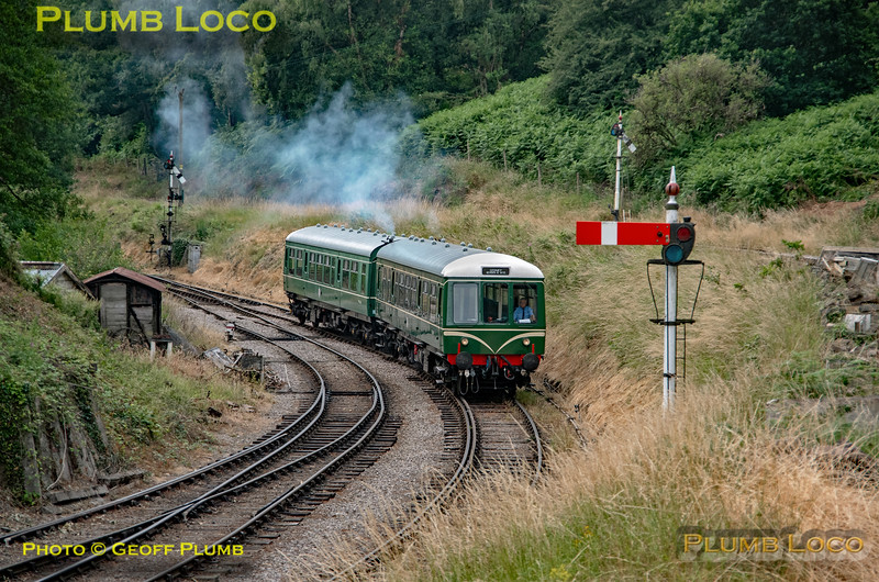 Class 108 DMU, Norchard Low Level, 17th July 2019