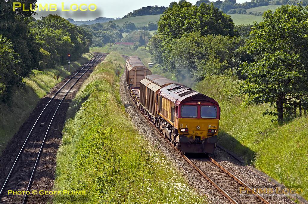 66187, Saunderton Lee, 6A49, 13th June 2014