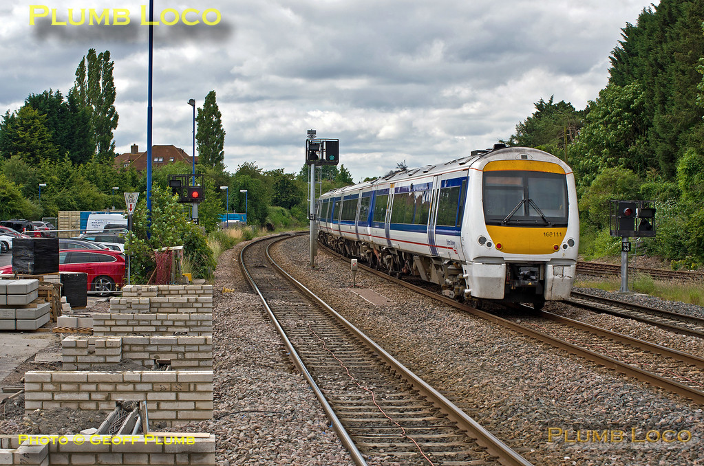 168 111, Princes Risborough Platform Extension, 1H35, 25th June 2014