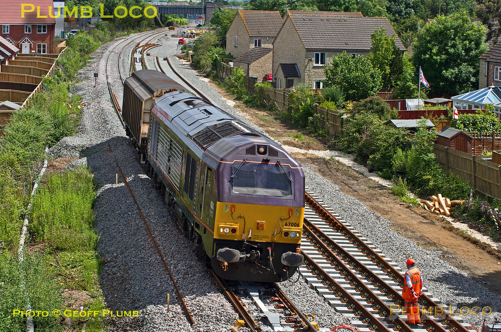 67006, Gavray Junction, 6A49, 17th June 2014
