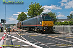 67006, Bicester London Road Level-Crossing, 6A48, 17th June 2014
