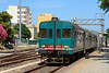 Dmu ALn668 3233 departs Olbia, with the 14:12 service to Sassari 18/06/2015.