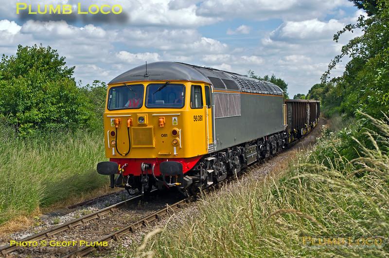 56081, Park Mill Farm Crossing, 6Z57, 24th June 2015