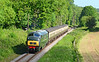 The law of sod in this photograph, the cloud/sun just getting in the way as Warship D832 is seen at Crowcombe on the early morning ecs 07/06/2015.