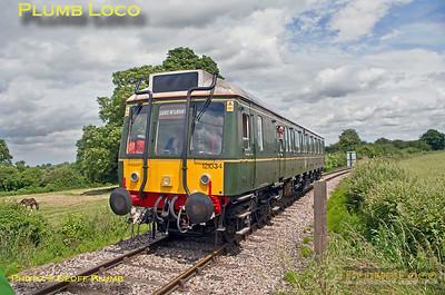 121 034, Horsenden Crossing, 5Z00, 28th June 2016