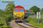 66185, Horsenden Crossing, 5th June 2016