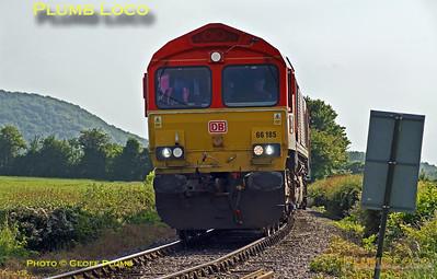 66185, Horsenden Crossing, 5th June 2016