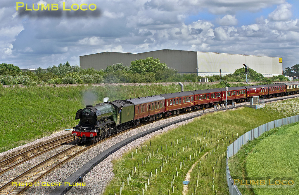 60103, Bicester SW Chord, 1Z72, 9th June 2017