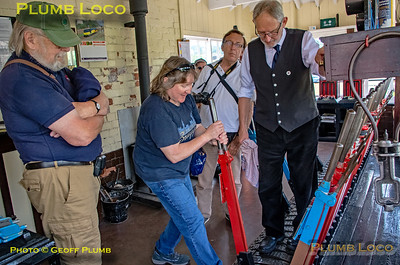 RCTS Watford Group, Winchcombe Signal Box, 3rd June 2018