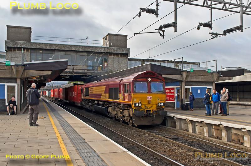 66100, Stafford Platform 5, 4M83, 14th June 2018
