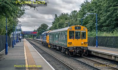 37409, Haddenham Station, 2Z02, 20th June 2018