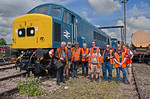 45149 & RCTS Group, Toddington Yard, 3rd June 2018