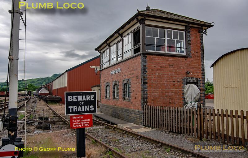 Winchcombe Signal Box, 2nd June 2019