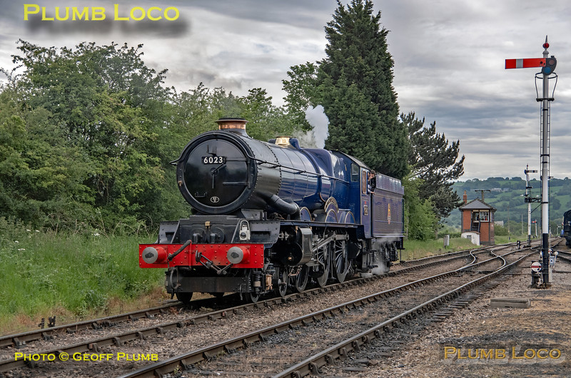 "6023 ""King Edward II"", Toddington, 2nd June 2019"