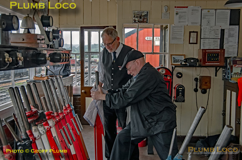 Winchcombe Signal Box Interior, 2nd June 2019