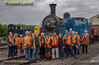 RCTS Watford Branch Group, CR No. 419, Toddington MPD, 2nd June 2019