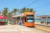 4236 is seen at Muchavista on the Costa Blanca on service L3 heading for Alicante.