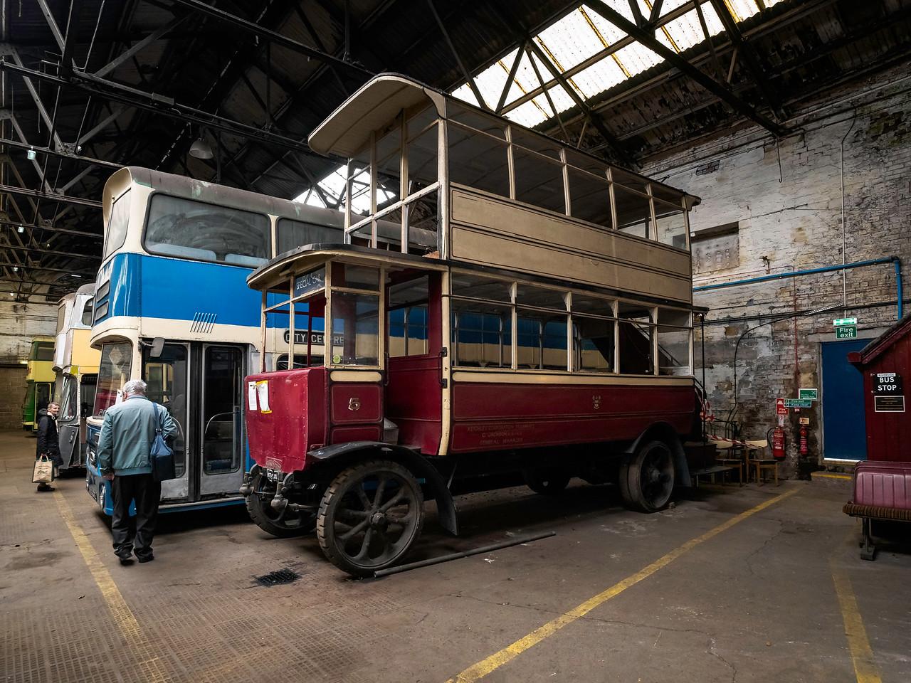 1924 Straker-Clough Trolley Omnibus