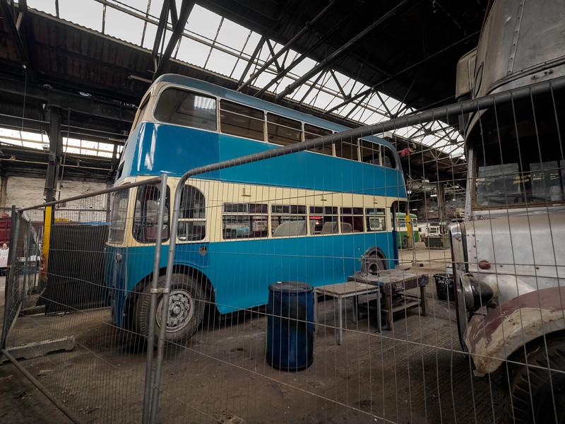 Bradford Trolleybus 758