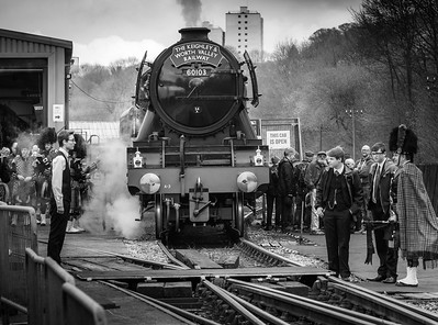 Flying Scotsman at Ingrow West